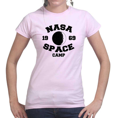 Nasa Space Camp Womens T-shirt