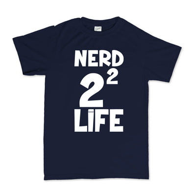Nerd 4 Life Kid's T-Shirt, [product_type) - Fretshirt.com