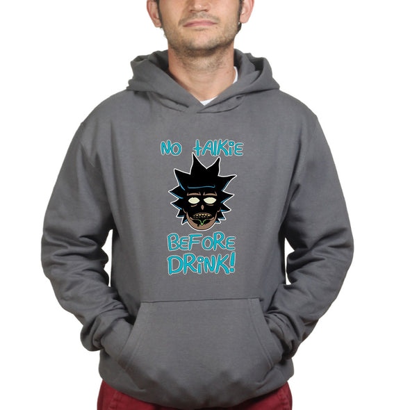 No Talkie Ricky And Morty Hoodie
