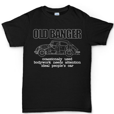 Old Banger Classic Beetle Bug Camper T1 Kid's T-Shirt, [product_type) - Fretshirt.com