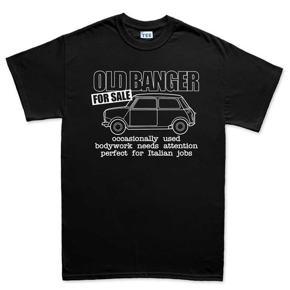 Classic Car Austin Mini 1275 Old Banger T-Shirt - Fretshirt.com