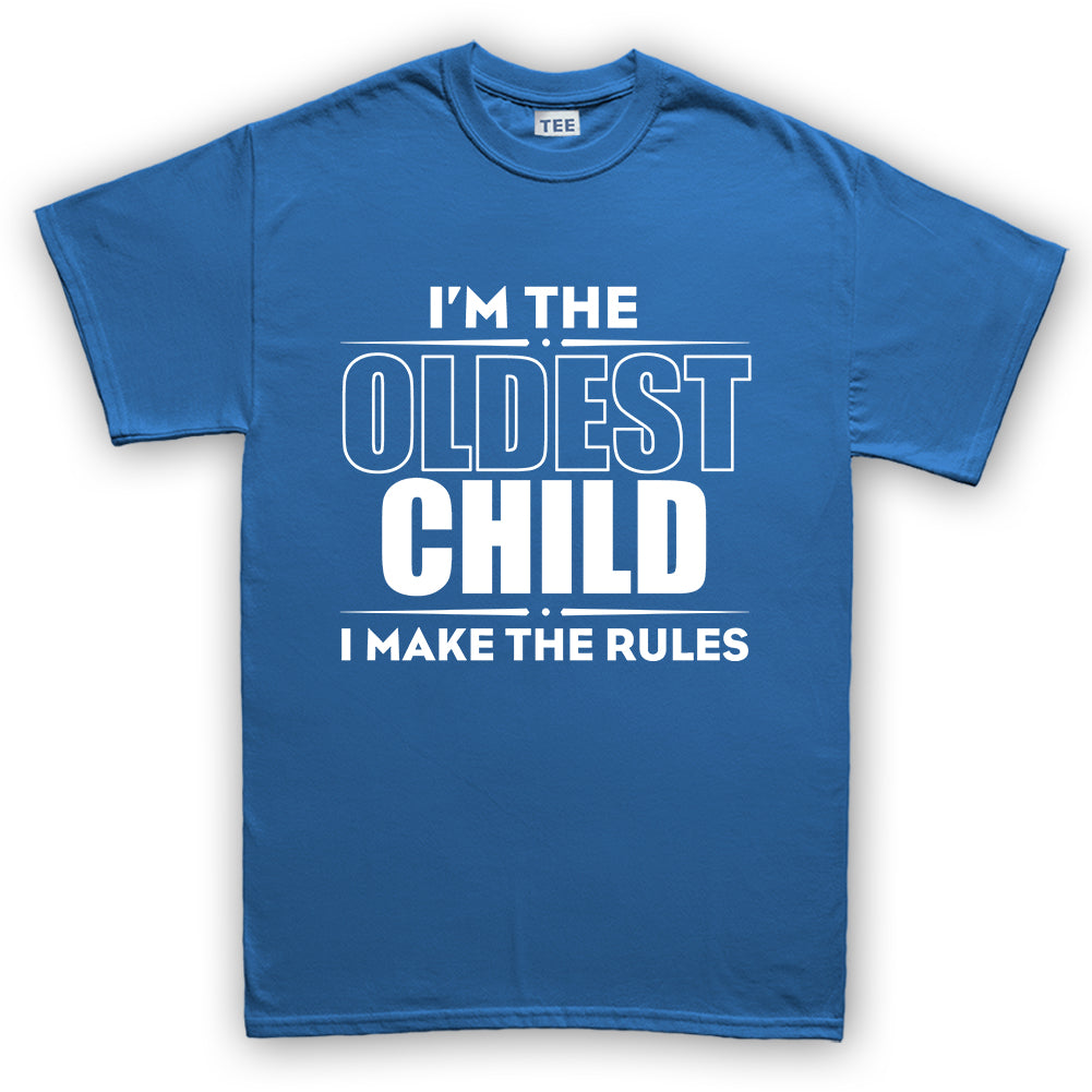 a4412aa3f Oldest Child Makes The Rules Kid's T-Shirt