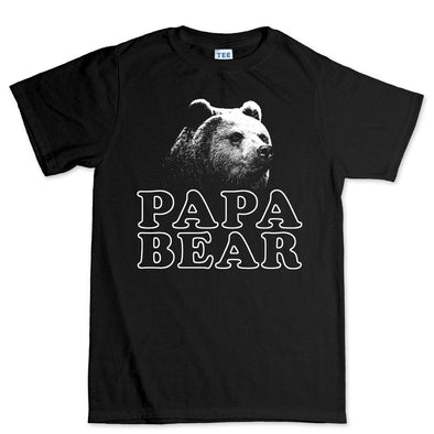 Papa Bear Fathers Day T-Shirt, [product_type) - Fretshirt.com