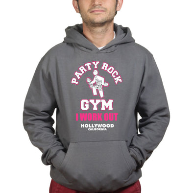 Party Rock Gym I Work Out Hoodie, [product_type) - Fretshirt.com