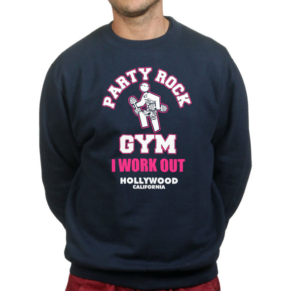 Party Rock Gym I Work Out Sweatshirt, [product_type) - Fretshirt.com