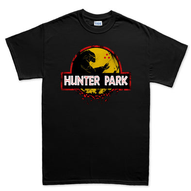 Jurassic Hunter Park Kid's T-Shirt - Fretshirt.com