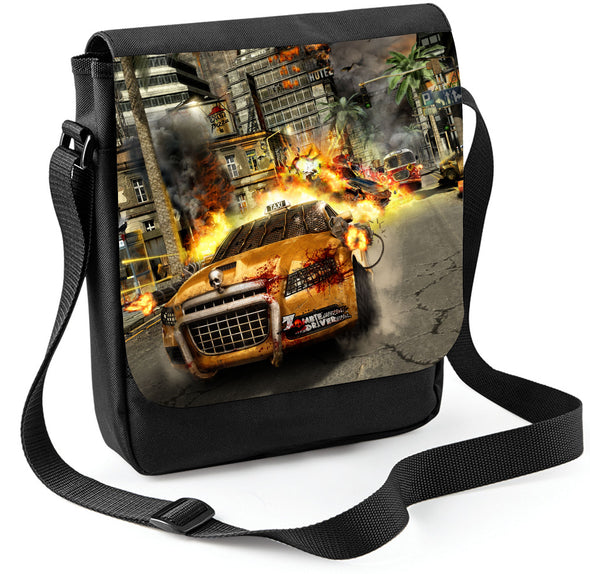 Zombie Driver Sublimation Reporter Tablet Bag