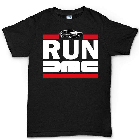 RUN DMC Delorean Car T-Shirt