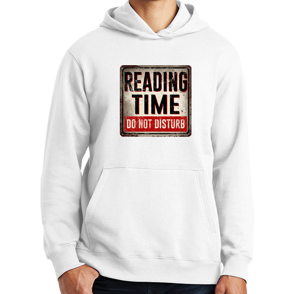 Reading Time Do Not Disturb Hoodie