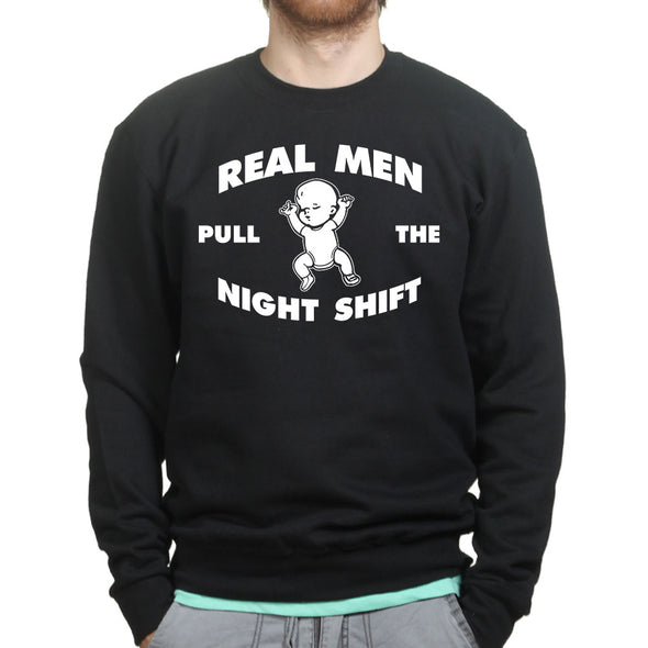 Night Shift Dad  Sweatshirt, [product_type) - Fretshirt.com