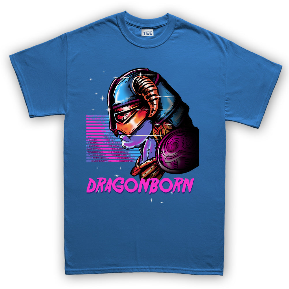 c30bd4fd Retro Dragonborn Skyrim Kid's T-Shirt