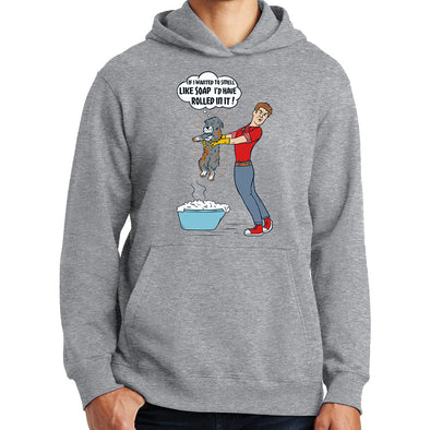 It's a Dog Thing - Rolled in it Bath by Man Hoodie