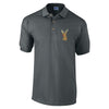 Rudolph Face Embroidered Polo Shirt