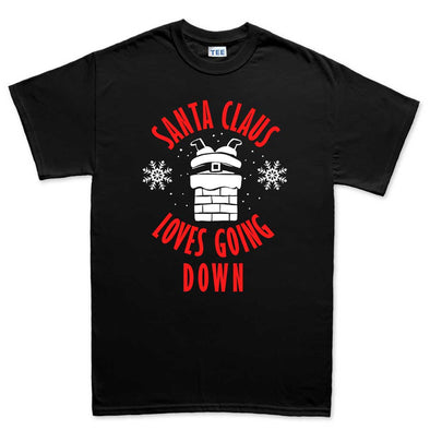 Santa Going Down Kid's T-Shirt