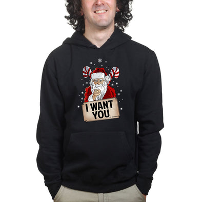Santa Wants YOU Hoodie