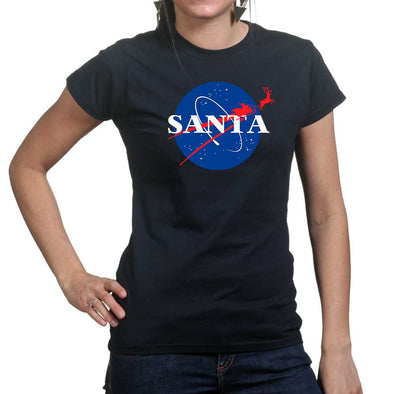 Santa Space Travel Women's T-Shirt