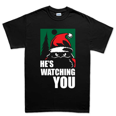 Santa Watching You Kid's T-Shirt