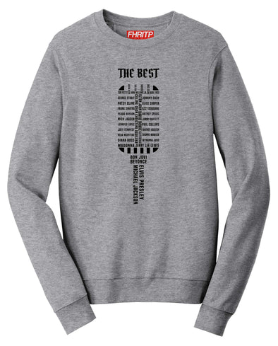 Vocal Legends Microphone Sweatshirt