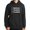 Single Taken Gamer Hoodie