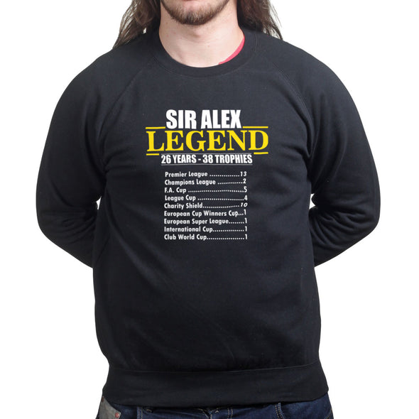 Sir Alex Legend Football Sweatshirt