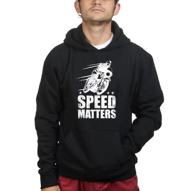 Speed Matters Hoodie, [product_type) - Fretshirt.com