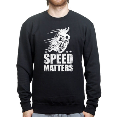 Speed Matters Sweatshirt, [product_type) - Fretshirt.com