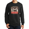 Sports Time Do Not Disturb Sweatshirt