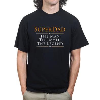 The Man, The Myth, The Legend - Super Dad T-Shirt
