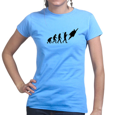 Superman Evolution Women's T-Shirt