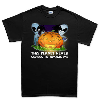 Aliens on Halloween T-Shirt