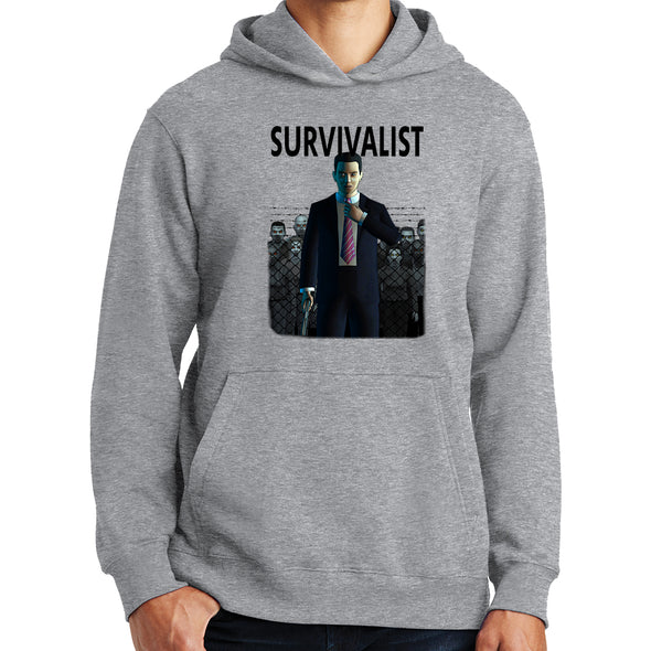 Survivalist - Tall Joe Wheeler Hoodie