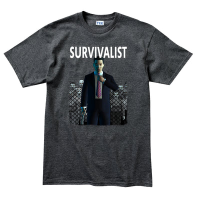 Survivalist - Tall Joe Wheeler T-Shirt