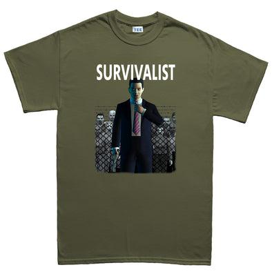 Survivalist - Tall Joe Wheeler Kid's T-Shirt