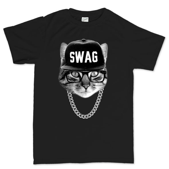 Swag Hipster Cat Kid's T-Shirt
