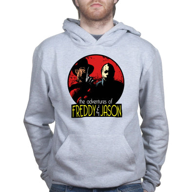 Adventures of Freddie and Jason Hoodie, [product_type) - Fretshirt.com
