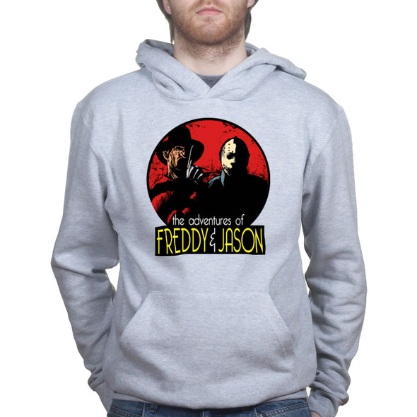 Adventures of Freddie and Jason Run Hoodie - Fretshirt.com
