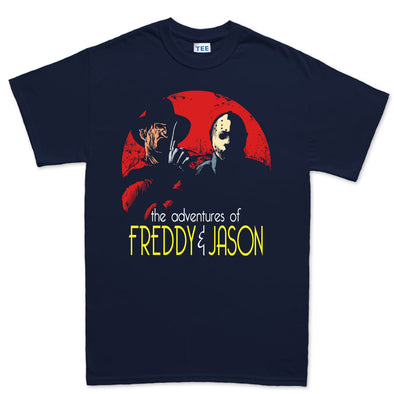Adventures of Freddie and Jason T-Shirt, [product_type) - Fretshirt.com