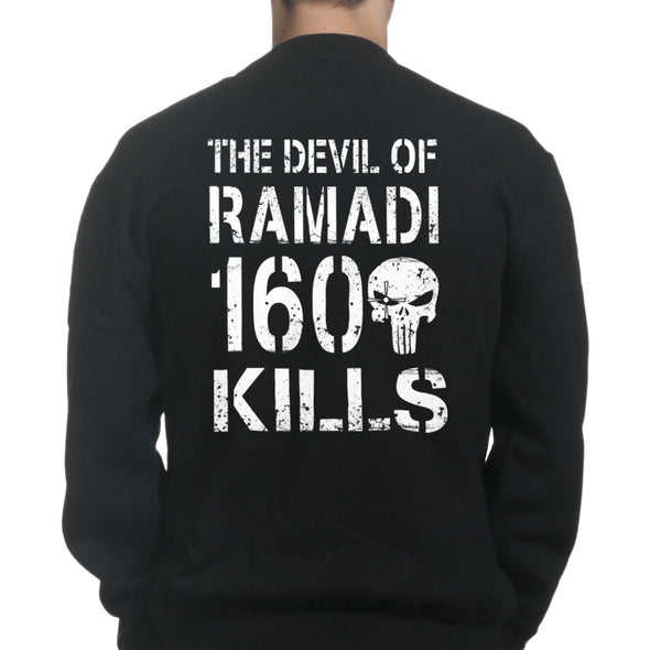 The Devil of Ramadi Kill Count Sweatshirt - Fretshirt.com
