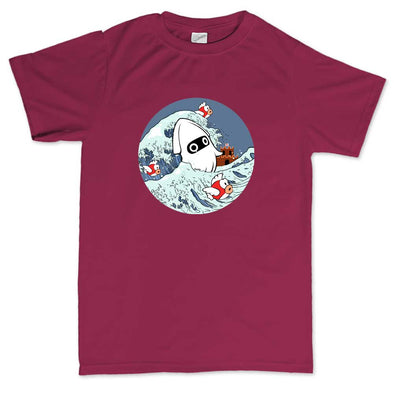 The Great Mario Wave Kid's T-Shirt, [product_type) - Fretshirt.com