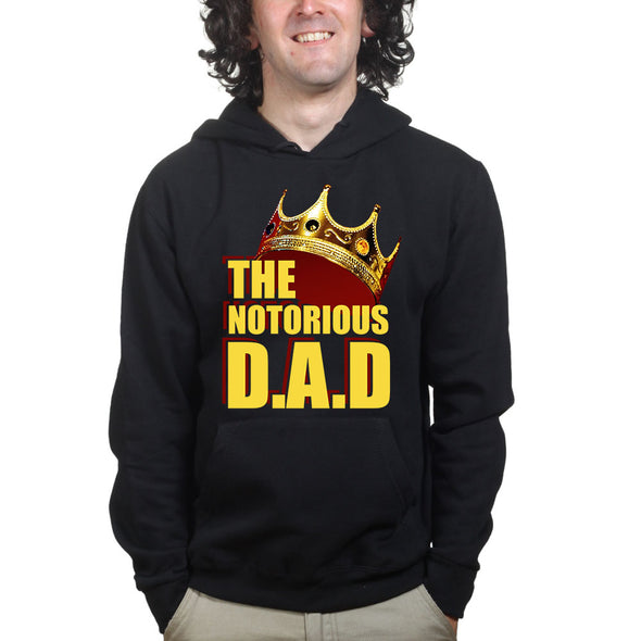 Notorious DAD Hoodie, [product_type) - Fretshirt.com