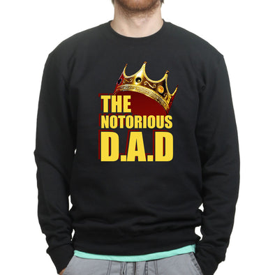 Notorious DAD Sweatshirt, [product_type) - Fretshirt.com