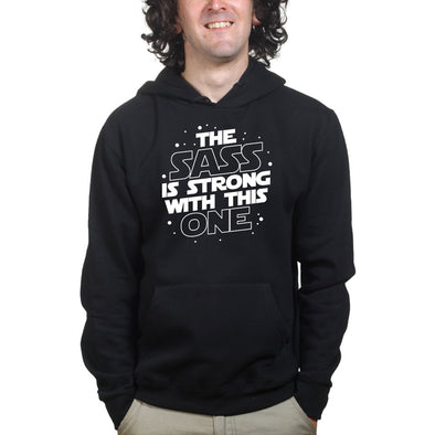 The Sass Is Strong With This One Hoodie, [product_type) - Fretshirt.com
