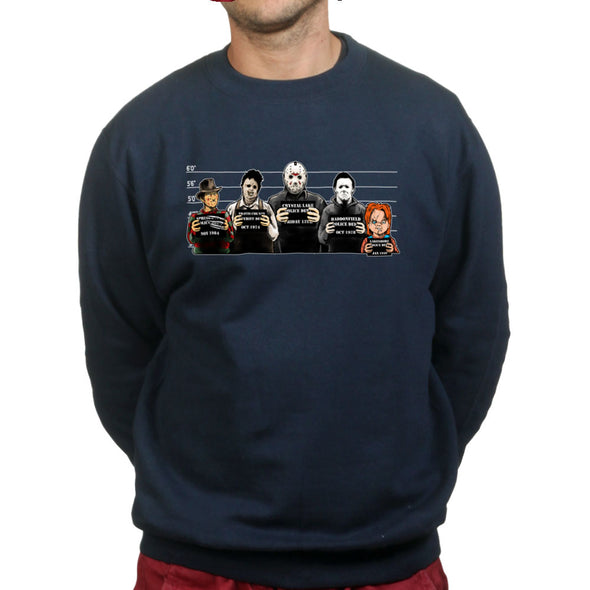 The Usual Horror Suspects Sweatshirt, [product_type) - Fretshirt.com