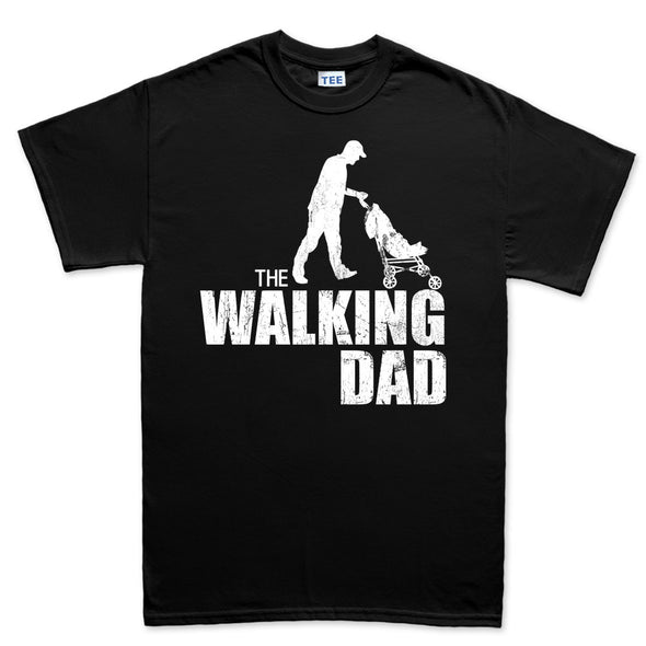 The Walking Dad T-Shirt, [product_type) - Fretshirt.com