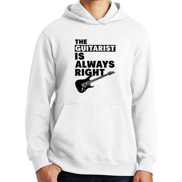 The Guitarist Is Always Right Hoodie