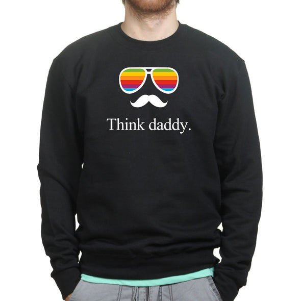 Think Daddy Sweatshirt, [product_type) - Fretshirt.com