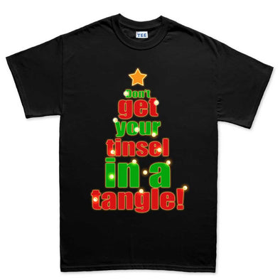 Tinsel In A Tangle Kid's T-Shirt