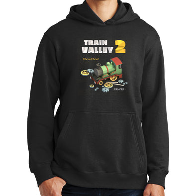 Train Valley 2 - Choo-Choo! No-No! Hoodie with Optional Track Sleeves, [product_type) - Fretshirt.com
