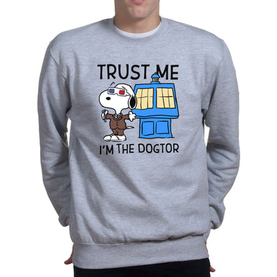 Trust Me I'm The Dogtor Doctor Sweatshirt
