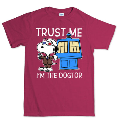 Trust Me I'm The Dogtor Doctor Kid's T-Shirt